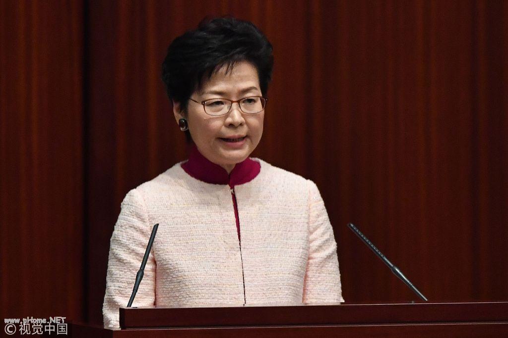 """美国威胁""""制裁"""" 香港特区政府10名官员强硬回击"""