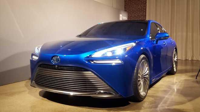 续航超650公里 全新丰田氢燃料电池车正式开售