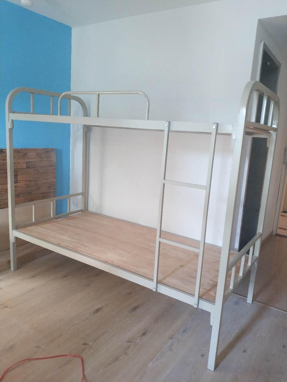 [家居生活]厦门上下铺铁床现货免费送货翔安工地员工宿舍床出租房高低床