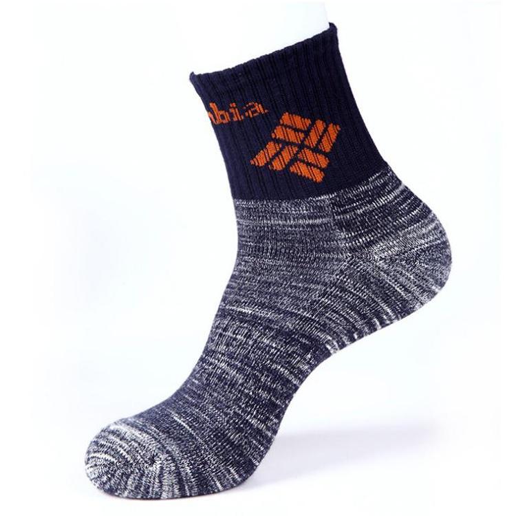 [服饰]很耐穿,毛巾底户外登山运动袜,6.9元一双,10送一
