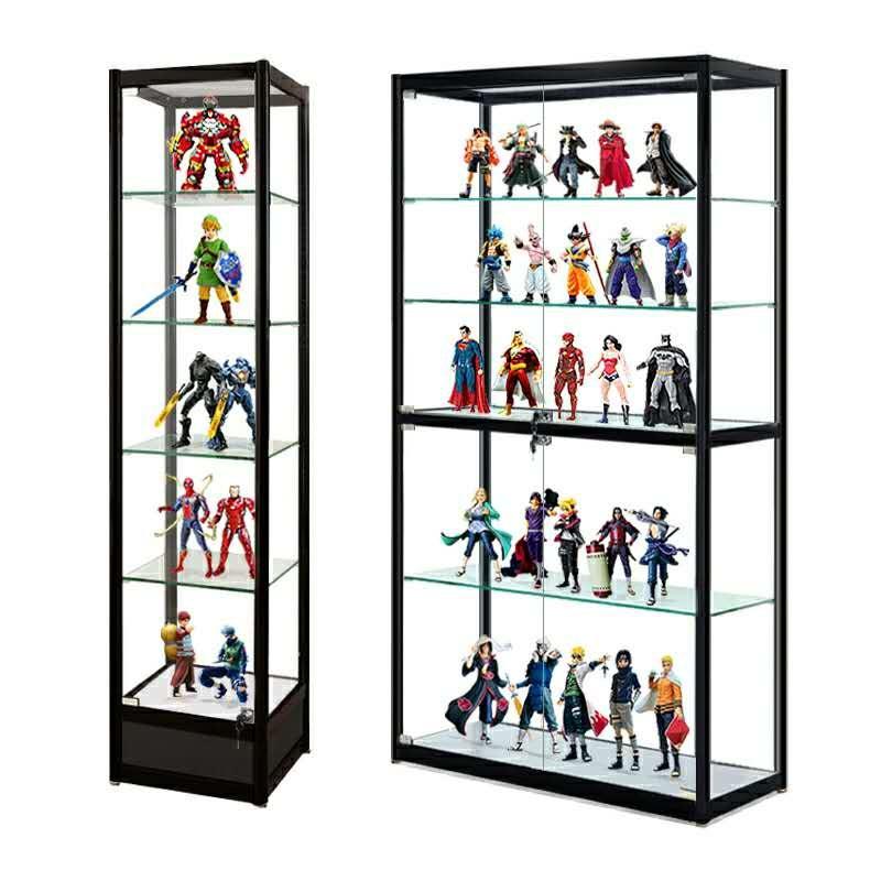 [家居生活]厦门玻璃柜现货翔安乐高手办柜玩具模型展架同安集美海沧思明湖里