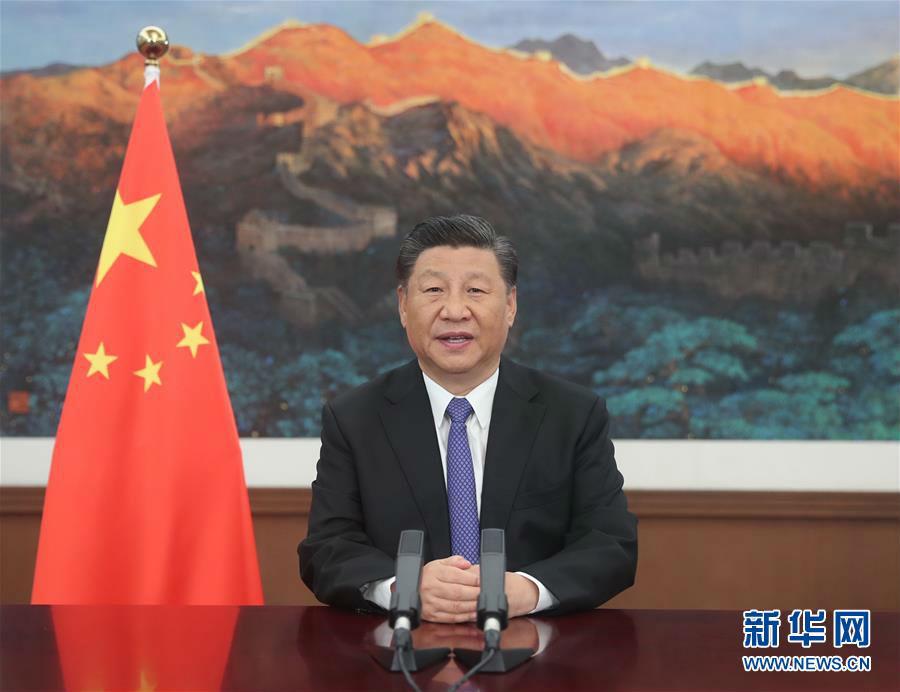 习近平在亚投行第五届理事会年会视频会议开幕式上致辞