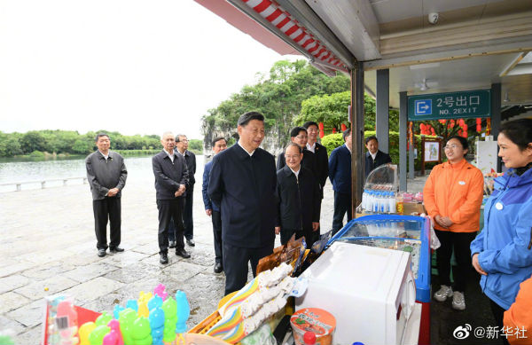 习近平:一定要呵护好桂林山水