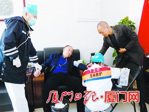 连续工作9天 翔安区卫健局局长陈闽生晕倒在工作岗位上